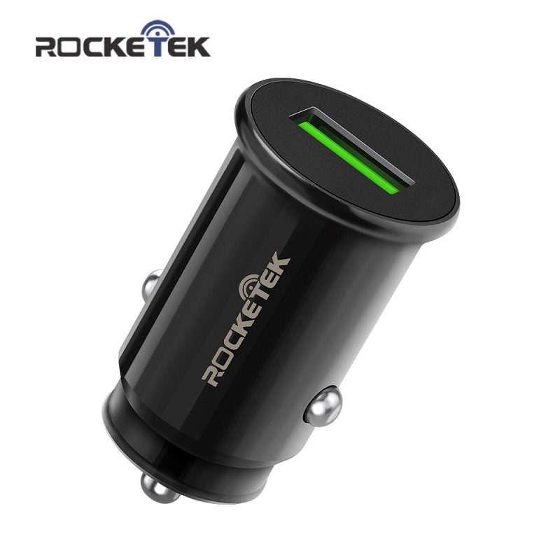 Rocketek Car-Charger Mi-Qc3.0 Xiaomi Mini-Usb IPhone Fast-Mobile Samsung