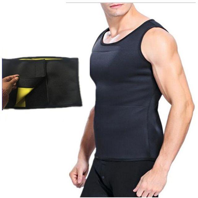 Men's Slimming Body Shaper Modeling Vest Belt Belly Reducing Shaperwear Men Fat Burning Loss Weight Waist Trainer Sweat Corset 3