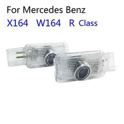 Светодиодный дверной светильник с логотипом для Mercedes Benz W164 ML X164 GL W251 R Class R400 R350 R300 ML300 ML450 ML500