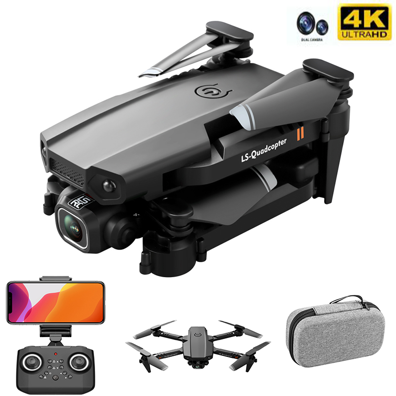 New Drone 4k Double Camera HD XT6 WIFI FPV Drone Air Pressure Fixed Height four-axis Aircraft RC Helicopter With Camera 1