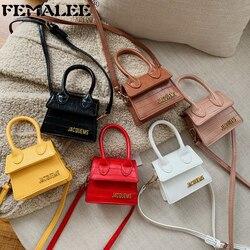 Luxury Handle Mini J Bags Brand Purses Handbags 2019 Women Designer Small Shoulder Crossbody Bags Female Crocodile Pattern Totes
