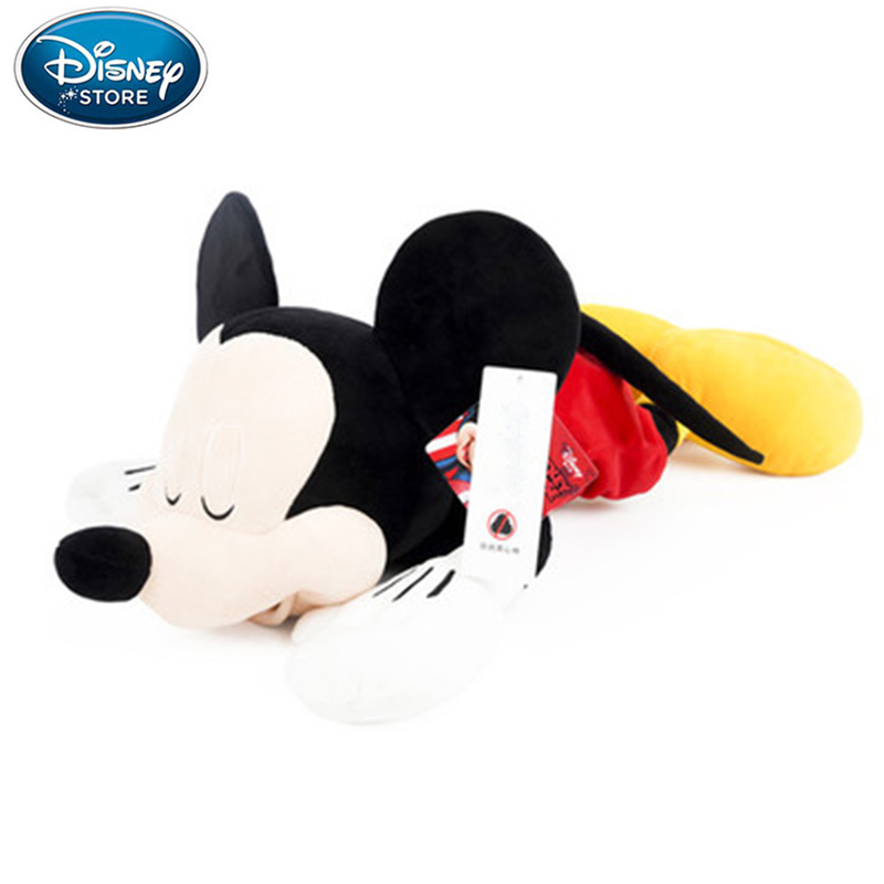 30cm/46cm Disney Cute Mickey Mouse Minnie Plush Animal Stuffed Toy Body Pillow PP Cotton Doll Birthday Christmas  New Year Gifts