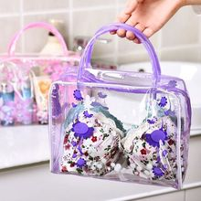Waterproof  Flower Portable Makeup Cosmetic Toiletry Travel Makeup Cosmetic Wash Toothbrush Pouch Organizer Bag