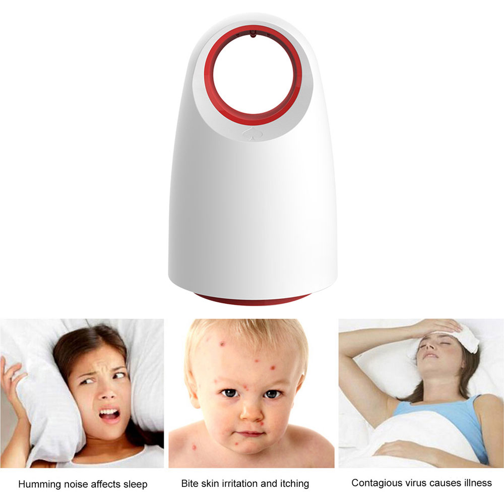 Office Killer Photocatalyst Mosquito Light For Home Bedroom Pregnancy Baby Child USB Mosquito Light White / Black|Mosquito Killer Lamps| |  - title=
