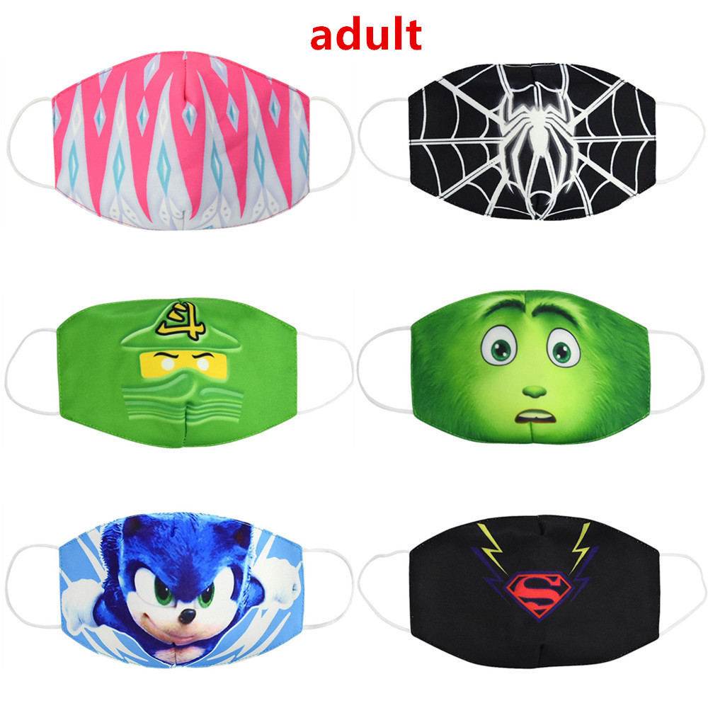 Hot Adult Anti Dust Ear Muffs Reusable Breathable Cotton Protective Youth Cartoon Cute Anti-Dust Mouth Ear Muffs Gasket