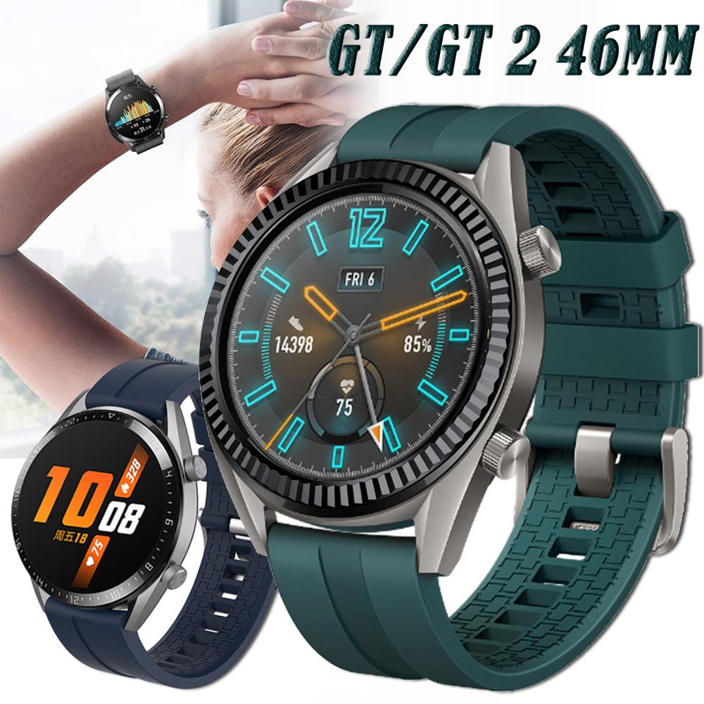 For Huawei Watch GT 2 GT2 46mm Smart Watch Silicone Sport Strap Watchbands Bracelet 22mm Watch Band For Huawei GT 42mm 46mm