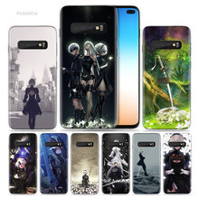 Nier Automata Case for Samsung Galaxy S10 5G S10e S8 S9 S7 Note 8 9 10 J4 J6 Plus J5 J8 2018 J3 Silicone Anime Phone Coque Cover(China)