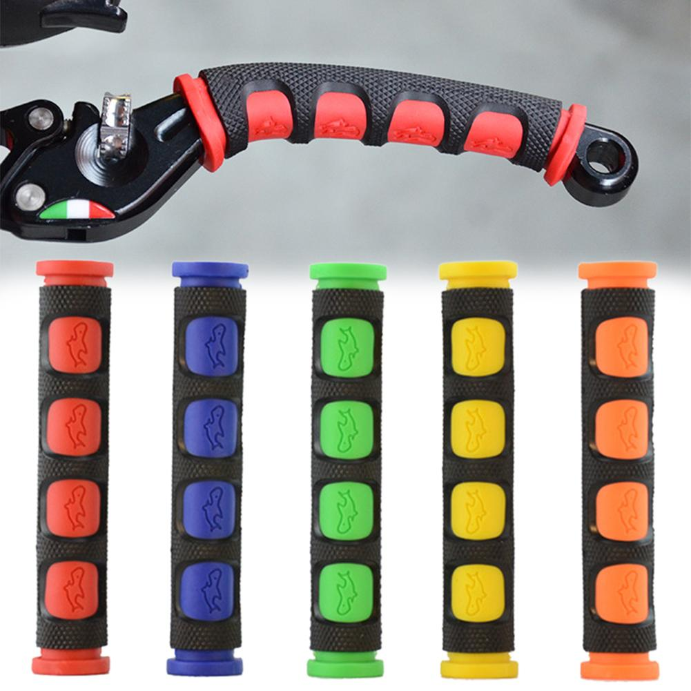 Soft Anti-Slip Durable Brake Handle Silicone Sleeve Motorcycle Bicycle Protection Cover Protective Handlebar Accessories