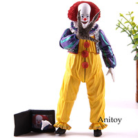 The Clown Pennywise Stephen King's It Action Figure NECA 1990 Edition PVC Movie Collection Model Toy