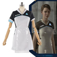 Game Detroit Become Human Cosplay Costumes Kara AX400 Cosplay Costume Dresses Halloween Carnival Party Women Cosplay Costume