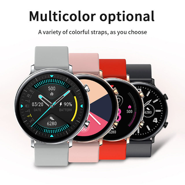 Smart Watch MT2502D Bluetooth V4.2 V3.0 Heart Rate Sports Watch IP68 Waterproof Rechargeable Smartwatch for Android iOS 3