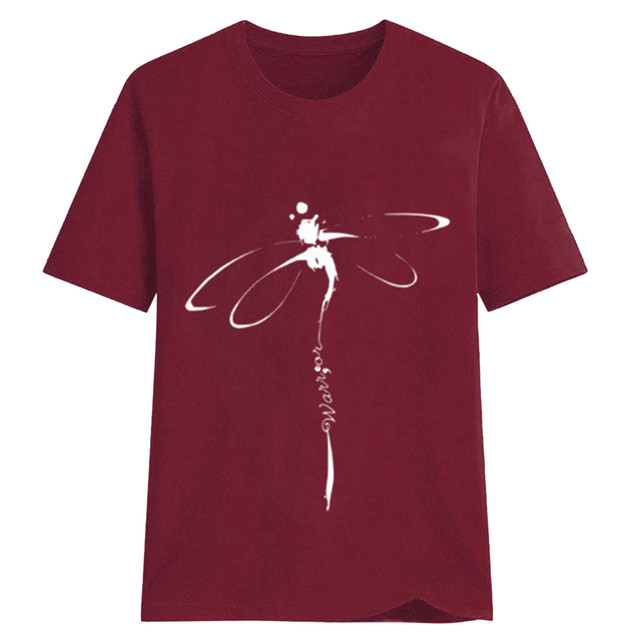 dragonfly design tee 5