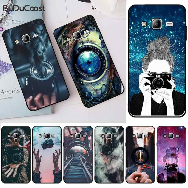 Camera Wallpaper Black Cell Phone Case For Samsung J2 4 5 6 7 8 Prime Pro Plus Duo Neo J415 2016 8 9 J600 737 730 Phone Case Covers Aliexpress