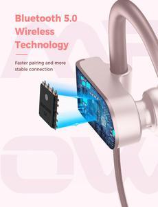Image 3 - Mpow flamme 2 ipx7 étanche sans fil sport écouteur Bluetooth 5.0 13h temps de jeu HD stéréo pour iPhone Samsung Huawei Xiaomi