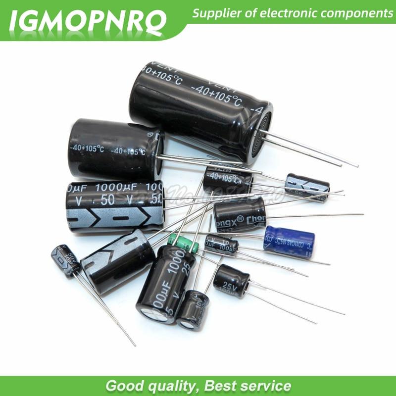 //-20/% 105℃ 10 PCS Aluminum Electrolytic Capacitors 47uF 450V 16X25