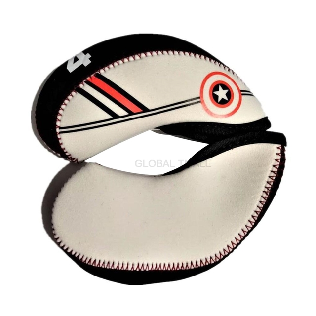 Professional Golf Club Iron Head Cover 10pc/set golf ball games golf Head Protector Accessories 4 5 6 7 8 9 SW 2