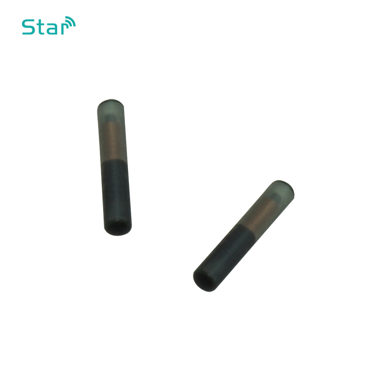 70pcs Rfid Animal Id Glass Tag T5577 With Size 2.12*12mm125khz Pet Microchip Fdx-A For Dog Injection