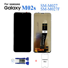 For Samsung M02s SM-M027 SM-M027F lcd Display Screen Replacement For Samsung M02s SM-M027F Digitizer Assembly Touch Panel Module