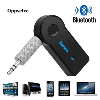 5 0 Bluetooth Audio odbiornik nadajnik Mini Stereo Bluetooth AUX USB gniazdo 3 5mm do TV PC słuchawki zestaw samochodowy Adapter bezprzewodowy tanie i dobre opinie Oppselve CN (pochodzenie) BR-01 Bluetooth v4 2 Bluetooth Audio Receiver Wireless Portable AUX Transmitter Bluetooth 4 2