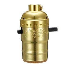 2Set Brass Finish Bottle Lamp