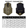 Designer Mens Classic Black Paisley Jacquard Folral Silk Waistcoat Vests Handkerchief Tie Vest Suit Pocket Square Set Barry.Wang 3