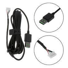Durable Nylon Braided Line USB Mouse Cable Replacement Wire For Razer DeathAdder Elite Wired Gaming