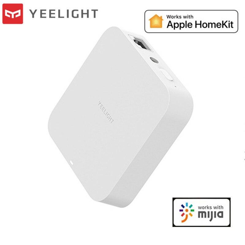 2020 mais novo yeelight inteligente gateway malha versão wifi modo duplo para apple homekit telefone móvel inteligente yeelight app