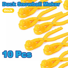 Toys Clip-Toy Snowball-Maker Kids Outdoor Sports Winter Sand for Gifts 10pcs Fight-Duck