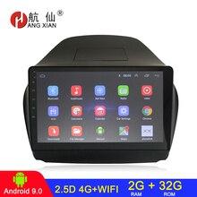 Android 9.0 Đài Phát Thanh 2 Din Xe Ô Tô Đài Phát Thanh Xe Hơi Dành Cho Xe Hyundai IX35 TUCSON 2010 2016 Autoradio Âm Thanh Xe Hơi 2G + 32G 4G Internet