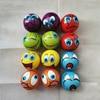 12pcs/lot 6.3cm Squeeze Anti Stress Balls Smiley Face Grimace Soft Foam PU Balls Toys for Kids Children Wholesale / Custom Logo