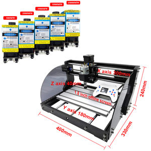 Image 4 - 3018 프로 최대 레이저 조각 기계 전원 0.5W 15W 3 축 CNC 라우터 DIY 미니 목공 레이저 조각사 오프라인 컨트롤러