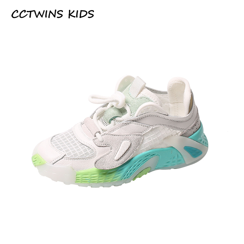 CCTWINS Kids Shoes 2020 Spring Children Genuine Leather Shoes Baby Girls Genuine Leather Trainers Boys Sport Sneakers FS3773