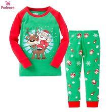 Kids Pajamas Set Spring Autumn Baby Girls Boys Sleepwear Nig