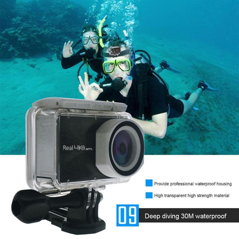 V8T Waterproof Action Camera Remote Ultra HD 4K WiFi 1080P Allwinner V5 LCD DV Sport Camera Gopro Hero 5 7 for Surfing Hiking