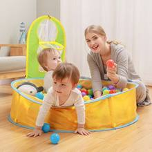 Children Swimming Pool Foldable Baby Beach Tent Sunshade Infant Outdoor Portable Bathtub Kids Small House Play Water Toy(China)