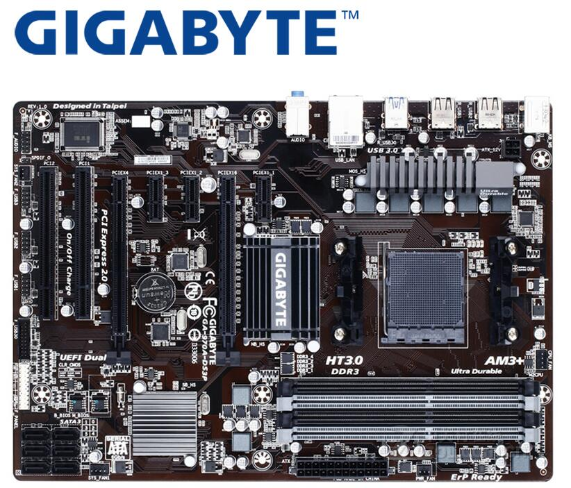 GIGABYTE GA-970A-DS3P Desktop Motherboard 970 Socket AM3+ DDR3 32G For FX/Phenom II/Athlon II ATX  Mainboard Used PC