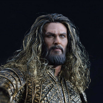 In Stock 1/6 Scale Male Head Sculpt Carving Model Aquaman Jason Momoa Planted Hair PVC Toy for 12 Action Figure Body in stock gc018 1 6 scale beauty european girl head sculpt ivanka trump head carving toy 4 styles for 1 6 female action figure
