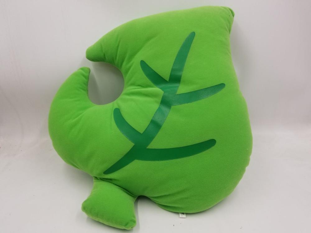 Animal Crossing Leaf Tom Nook Ichiban Kuji A Award Leaf Cushion Banpresto Cushion Pillow Doll Toys