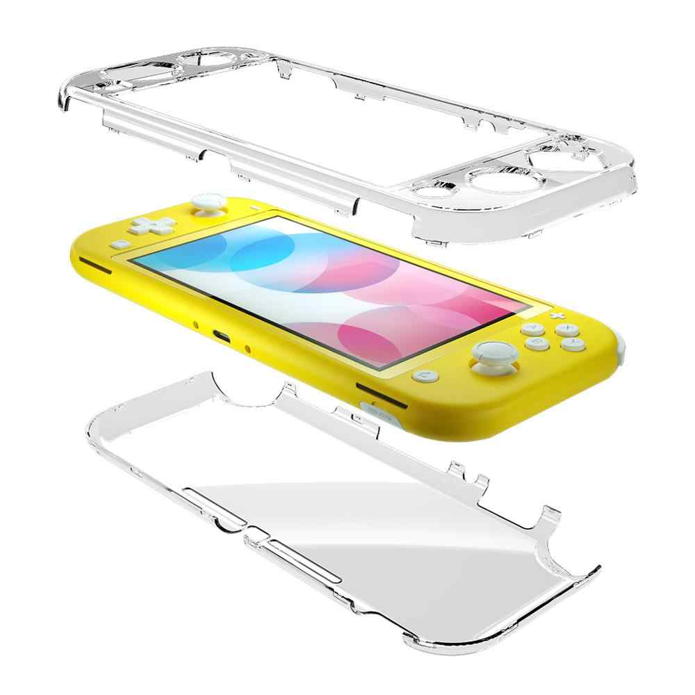 OIVO Crystal Transparent Case Shell for Switch Lite Hard PC Protecive Cover  Case Tempered Cover for Nintend Switch Lite|Cases| - AliExpress