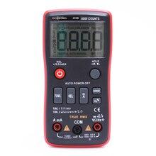 RM408B زر رقمي متعدد 8000 التهم True RMS اختبار درجة الحرارة 5MHz تردد ACDC الجهد الحالي 9.999mF السعة