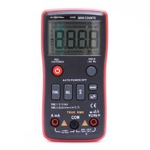RM408B cyfrowy przycisk multimetru 8000 zlicza true rms Test temperatury 5MHz częstotliwość ACDC napięcie prądu 9.999mF pojemność