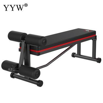 Многофункциональная Складная портативная скамья для гантелей тренажер для фитнеса Ab тренажер для тренировки мышц брюшной полости