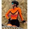 Longo triathlon manga curta camisa de ciclismo conjuntos skinsuit maillot ropa ciclismo bicicleta jérsei roupas ir macacão 16