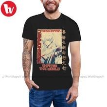 Inuyasha-Camiseta de Sesshomaru para hombre, Camiseta de algodón 100, camiseta informal con gráfico impresionante, camiseta de manga corta