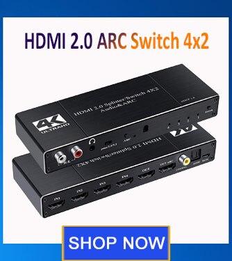 1x4 hub caixa de interruptor suporte hdmi