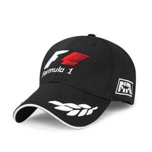 2019 Sports F1 Racing Cap Mens Hat For Fish Outdoor Fashion Line Baseball Cap Long Visor Brim Shade Snapback Sun Hat Bone Gorras(China)