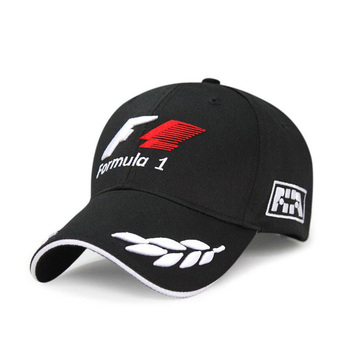 2019 Sports F1 Racing Cap Mens Hat For Fish Outdoor Fashion Line Baseball Long Visor Brim Shade Snapback Sun Bone Gorras - sale item Hats & Caps
