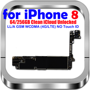 Image 2 - 100% original for IPhone 8 motherboard with/without Touch ID unlocked mainboard mb for iphone 8 IOS System logic board