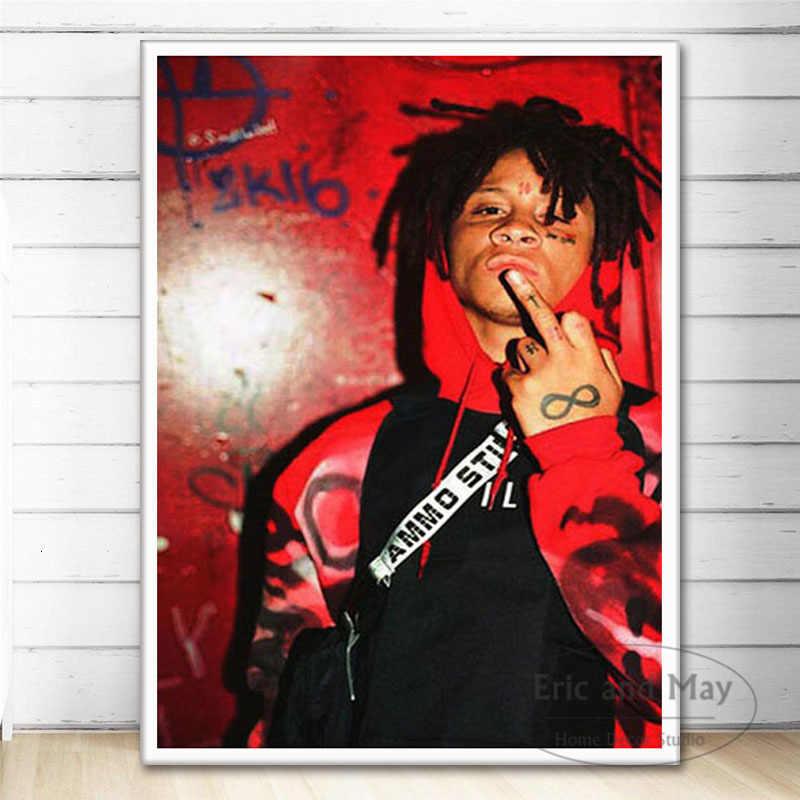 P534 Trippie Redd Rap Hip Hop Rapper Star Music Live Silk Poster