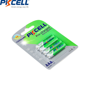 Image 3 - 12PC PKCELL 1.2v AAA 1000mah NI MH batterie faible autodécharge piles AAA rechargeables jusquà to1200cicle fois